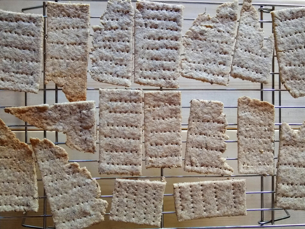 How we make:Rye Crackers -